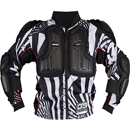 2013 EVS Youth Ballistic Jersey - 2013 Fly Racing Youth Barricade Long Sleeve Body Armor