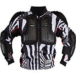 2013 EVS Youth Ballistic Jersey - KIDNEY-BELTS Dirt Bike Chest and Back