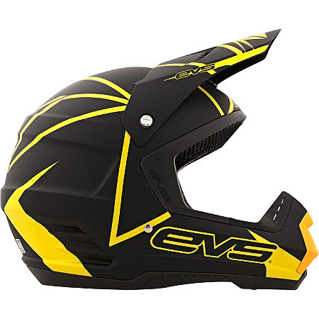 EVS T5 Neon Blocks Helmet - Main