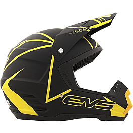EVS T5 Neon Blocks Helmet - 2013 One Industries Factory Graphic Kit - Suzuki