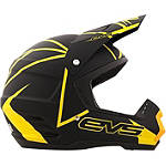 EVS T5 Neon Blocks Helmet - Utility ATV Riding Gear