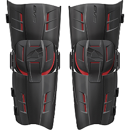 EVS RS9 Knee Braces - Pair - 2014 Alpinestars Fluid Tech Knee Brace