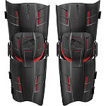 EVS RS9 Knee Braces - Pair -  Dirt Bike Motocross Knee & Ankle Guards