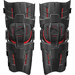 EVS RS9 Pro Knee Braces - Pair -  Dirt Bike Motocross Knee & Ankle Guards