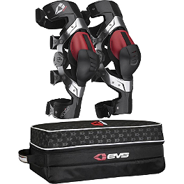 EVS Axis Pro Knee Brace Combo - Asterisk Cell Knee Braces
