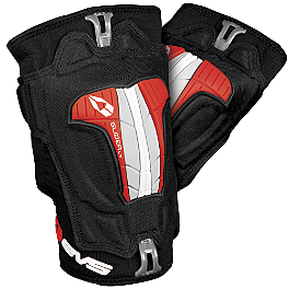 EVS Glider Lite Knee Guards - 2013 Scott 350 Gloves - Hyper