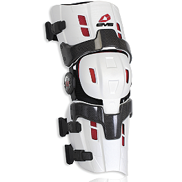 EVS Rs8 Pro Knee Braces - Pair - Alpinestars B2 Carbon Knee Brace