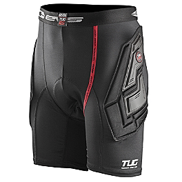 EVS Youth Tug Impact Shorts - 2014 Troy Lee Designs Shock Doctor Youth LPS1600 Base Protective Shorts