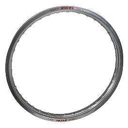 "Excel Rear Rim - 18"" Silver - 1996 Kawasaki KX125 Excel Rear Wheel Spoke Kit - 19"