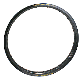 "Excel Rear Rim - 18"" Black - 2007 Honda CR250 Excel Rim & Spoke Combo - Front & Rear Anodized"