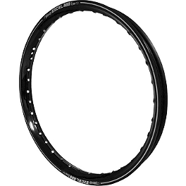"Excel Rim A60 Rear Rim - 19"" Black - 1990 Honda CR125 Excel Rear Wheel Spoke Kit - 18"