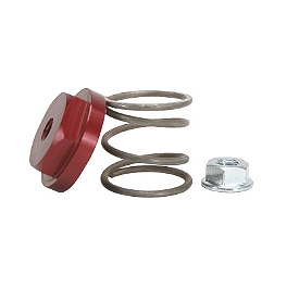 Fasst Company Rear Brake Return Spring - Red - 2006 Yamaha RAPTOR 350 Fasst Company Rear Brake Return Spring - Black