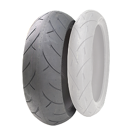 Full Bore M-1 Street Sport Rear Tire - 180/55ZR17 - Full Bore M-1 Street Sport Front Tire - 120/70ZR17