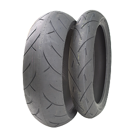 Full Bore M-1 Street Sport Tire Combo - Continental Motion Tire Combo