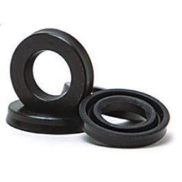 Factory Connection Updated 1-Piece Shock Seal Kit - 2005 Kawasaki KX125 Pivot Works Fork Seal & Bushing Kit