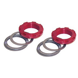 Factory Connection Team Works Pre Load Ring - Red - 2000 Suzuki RM250 Pivot Works Shock Thrust Bearing