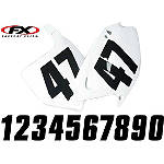 "Factory Effex Factory Numbers - 6"" -  ATV Body Parts and Accessories"
