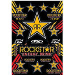 Factory Effex Rockstar Sticker Sheet