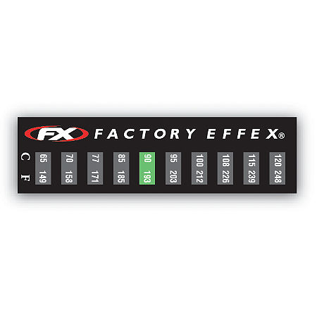 Factory Effex Temperature Stickers - 3 Pack - Main