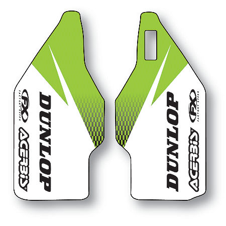2013 Factory Effex Fork Guard Graphics - Kawasaki - Main