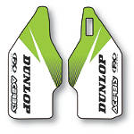 2013 Factory Effex Fork Guard Graphics - Kawasaki - Factory Effex Dirt Bike Parts