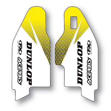 2013 Factory Effex Fork Guard Graphics - Suzuki - Main