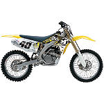 2010 Factory Effex DVS Graphics - Suzuki - Factory Effex Dirt Bike Graphic Kits