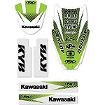 Factory Effex Standard Trim Kit - Kawasaki - Kawasaki KX125 Dirt Bike Graphics