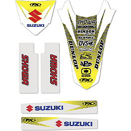 Factory Effex Standard Trim Kit - Suzuki - 2007 Suzuki RMZ450 Factory Effex All-Grip Seat Cover