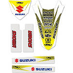 Factory Effex Standard Trim Kit - Suzuki - Dirt Bike Trim Decals