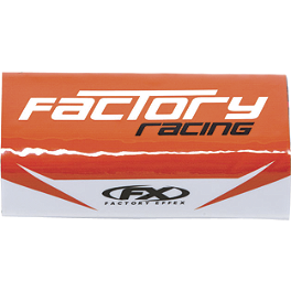 2013 Factory Effex Bulge Handlebar Pad - 2013 Factory Effex Number Plate Backgrounds KTM - Black