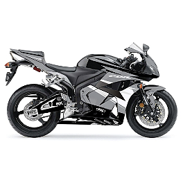 Factory Effex EV-R Complete Graphic Kit - Black / White - 2012 Honda CBR600RR ABS Flu Designs Honda/Corona Graphic Kit