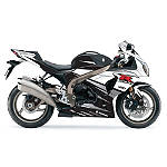 Factory Effex EV-R Complete Graphic Kit - Black / White - Factory Effex Motorcycle Graphic Kits and Decals