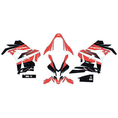 Factory Effex EV-R Complete Graphic Kit - OEM Colors - Main