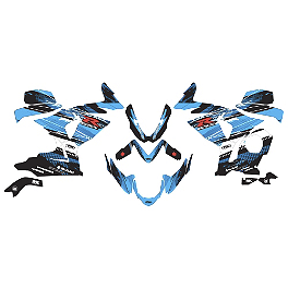 Factory Effex EV-X Complete Graphic Kit - OEM Colors - 2006 Suzuki GSX-R 750 Factory Effex Windscreen Graphic Kit