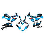 Factory Effex EV-X Complete Graphic Kit - OEM Colors - Factory Effex Motorcycle Graphic Kits and Decals