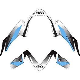 Factory Effex Fender Trim Kit - OEM Colors - 2009 Suzuki GSX-R 600 Factory Effex EV-R Complete Graphic Kit - OEM Colors