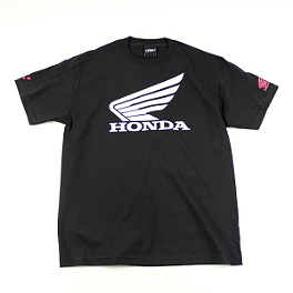 Factory Effex Honda Big T-Shirt - One Industries Honda Strike Baseball T-Shirt
