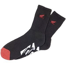 Factory Effex Honda Crew Socks - Alias Geico Team FlexFit Hat