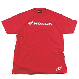 Factory Effex Honda Horizontal T-Shirt - Troy Lee Designs Honda Wing T-Shirt
