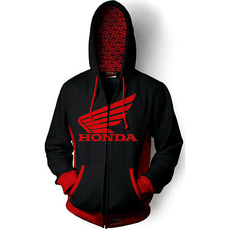 Factory Effex Honda Limit Zip Hoody - Main