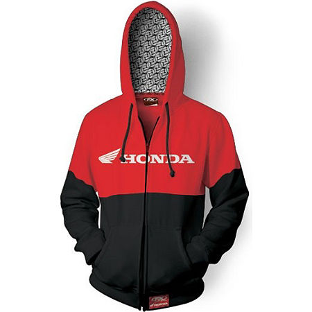 Factory Effex Honda Double Zip Hoody - Main
