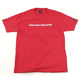 Factory Effex Honda Racing T-Shirt - Factory Effex Honda Ride Red Bolt T-Shirt
