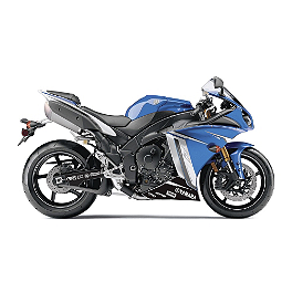 Factory Effex Lower Graphic Kit - 2007 Yamaha YZF - R6 Factory Effex Fender Trim Kit - OEM Colors