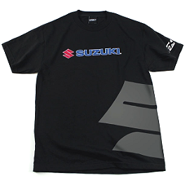 Factory Effex Suzuki Big S T-Shirt - Factory Effex Suzuki Team T-Shirt
