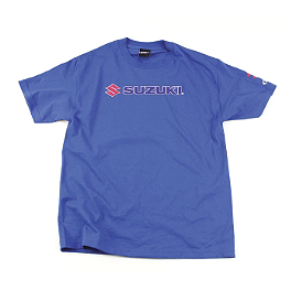 Factory Effex Suzuki Team T-Shirt - Camelbak Reservoir Dryer