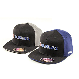 Factory Effex Suzuki Flexfit Hat - Factory Effex Suzuki Team T-Shirt