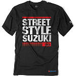 Factory Effex Suzuki Street Style T-Shirt - Mens Casual Motocross Dirt Bike T-Shirts