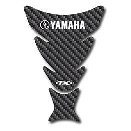Factory Effex Carbon Look Tank Protector - Yamaha - Factory Effex Lower Graphic Kit