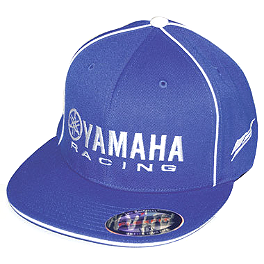 Factory Effex Yamaha Racing Flexfit Hat - One Industries Yamaha Whiteout Hat